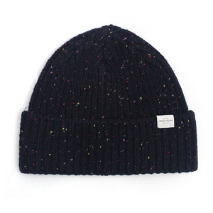 BEANIE / BOLD FIT / WOOL / NEP NAVY (BOX PACKAGE)