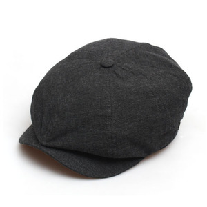 NEWS BOY / MELANGE / SOLID CHARCOAL