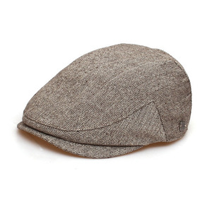 SERIOUS MAN / HERRINGBONE WOOL / BROWN