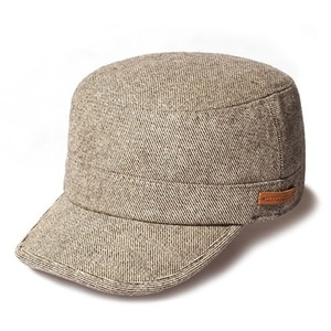 POSTMAN / WOOL BLEND / CROSS BROWN