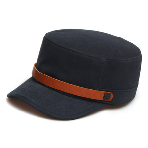 BELL BOY / LEATHER STRAP / SOLID NAVY