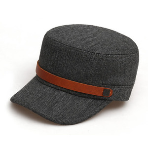 BELL BOY / HERRINGBONE WOOL / CHARCOAL