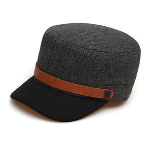 BELL BOY / HERRINGBONE WOOL / CHARCOAL COMBI