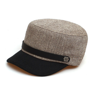 BELL BOY / HERRINGBONE WOOL / BROWN COMBI